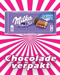 Verpakt chocolade