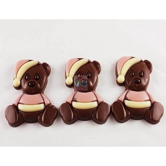 Chocolade Knuffelbeertje Roze