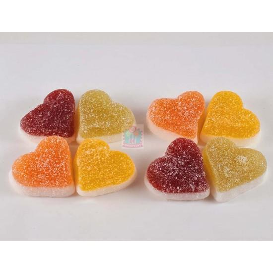 Gesuikerde Vruchten Harten