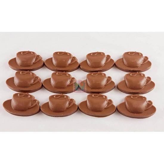 Chocolade koffie kopje m/p/w
