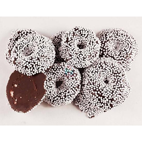 Gevulde Chocolade Musketkransen zakje 200gr.