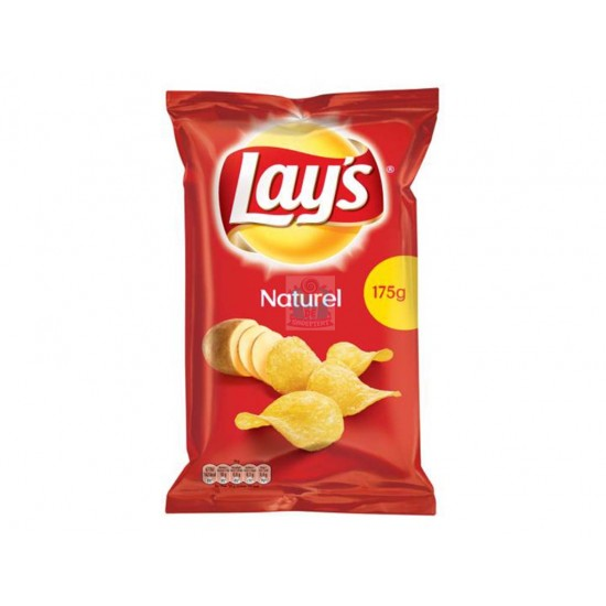 Lay's Chips Naturel 175 gram