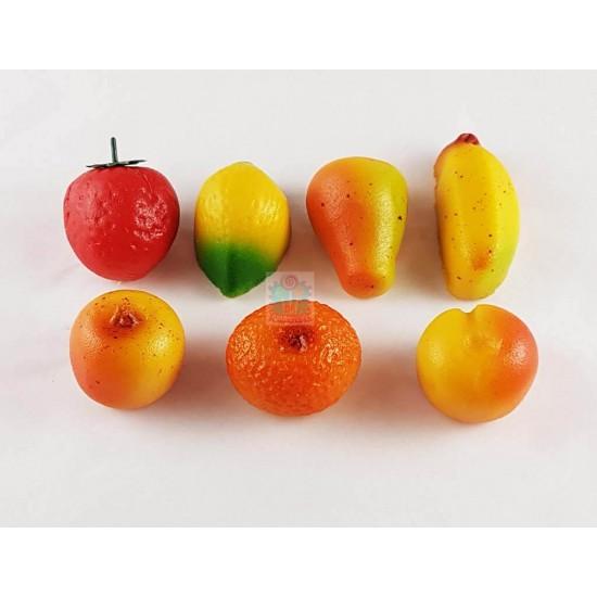 Marsepein Fruit zakje 6st.